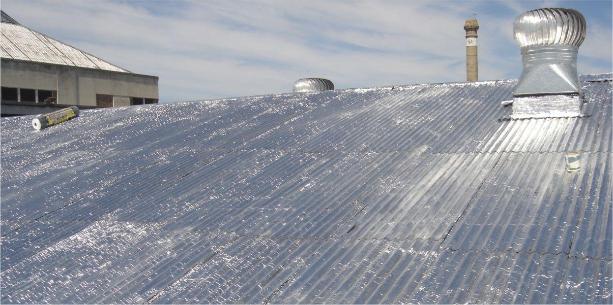 Membranas asfálticas techos de chapa